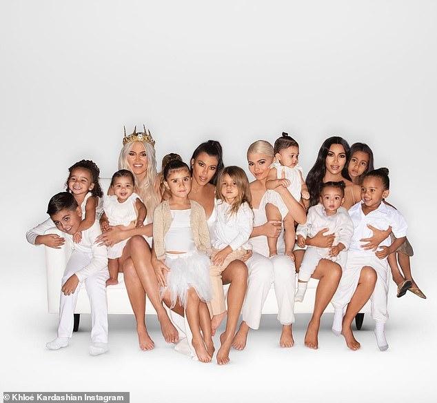 Its A Kardashian Christmas Khloe Shares The Family Card