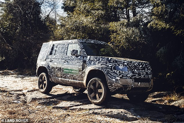 Not built in Britain: Land Rover has yet to confirm it, but it's widely believed that production of the new Defender will take place at the firm's new state-of-the-art facility in Slovakia