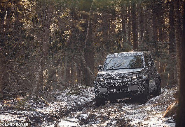 The next-generation Defender is expected to be priced from around £40,000