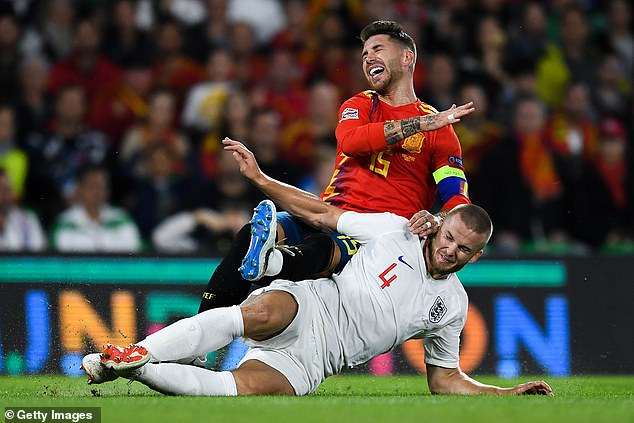 Eric Dier's hit on Sergio Ramos was an illustration that England were not resting on their laurels