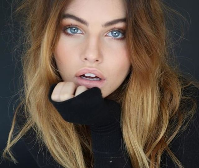 French Model Thylane Blondeau 17 Has Been Named The Most Beautiful Girl In The
