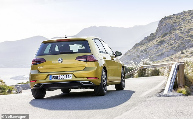 The VW Golf clinched second place in last year's rankings, with over 39 million searches