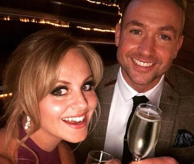 Tina Obrien Marries Partner Adam Crofts In Surprise New Years Eve Wedding Held In Manchester