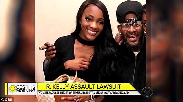 Reports: Faith Rodgers was 19 when she started dating R. Kelly, whom she met at a party after his concert in San Antonio, Texas. She claims that the relationship quickly became abusive