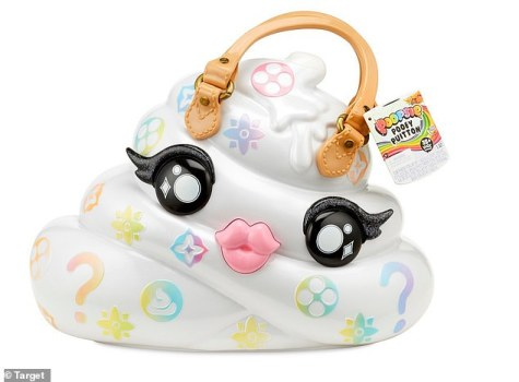 What a twist! The company behind thePoopsie Slime Surprise Unicorn - and the'Pooey Puitton' carrying case (pictured) - are taking Louis Vuitton to court