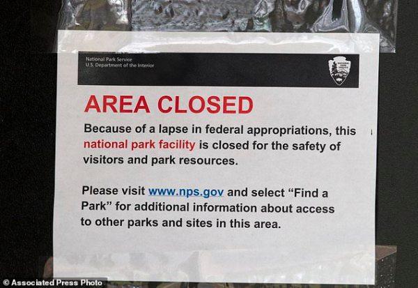 Talks go nowhere as partial gov't shutdown enters 13th day ...