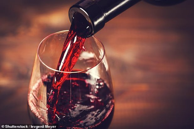 A new US study has revealed that a glass of wine a night might help heart failure patients to live up to two years longer (FILE PHOTO)