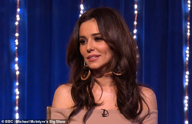 Divine: Cheryl, 35, has revealed a rare update on her only son, while appearing on Michael McIntyre's Big Show on Saturday