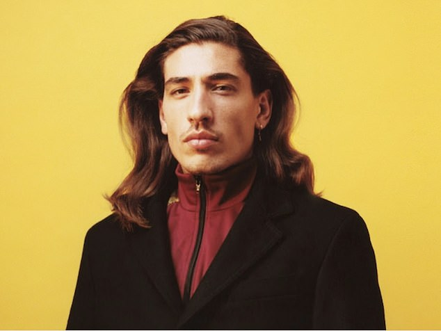 Bellerin is well known for his love of fashion and regularly wears vibrant outfits out and about