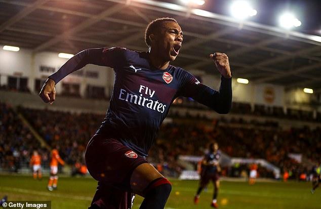 Arsenal beat Blackpool in Bellerin's absence with Joe Willock grabbing a brace in the 3-0 win