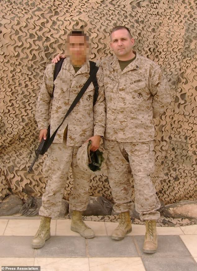 Paul Whelan (pictured) served as a US Marine and has been detained by the Russian government (Family handout/PA)