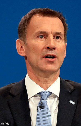 Foreign Secretary Jeremy Hunt (pictured) has warned against using Britons as diplomatic pawns