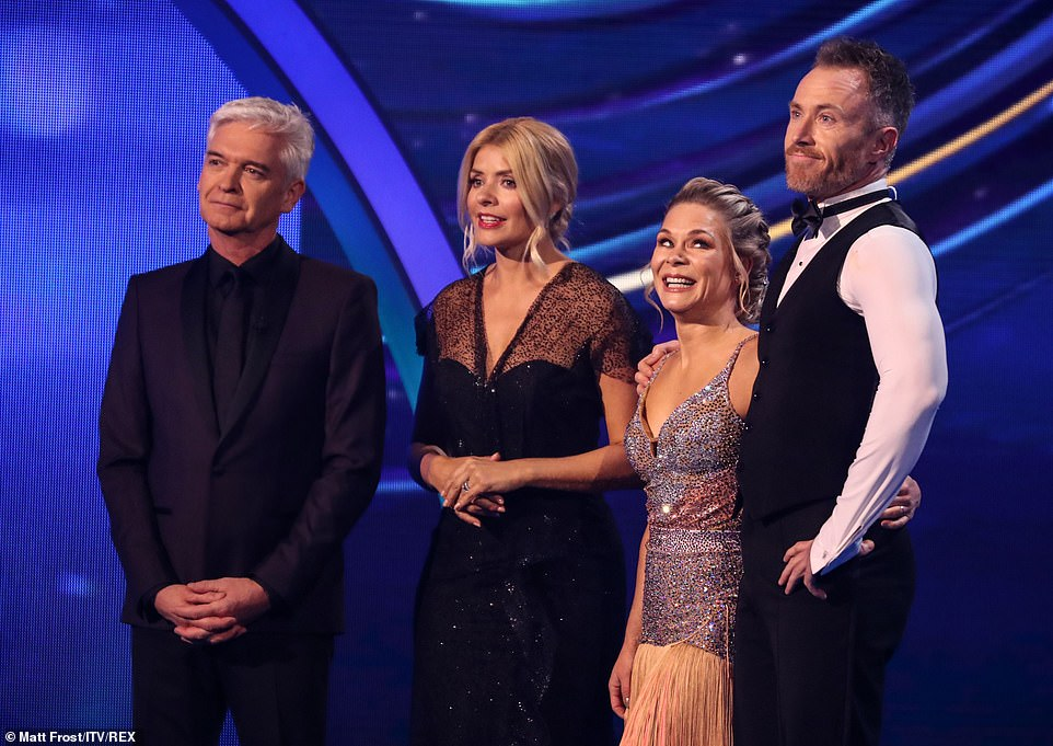 Perfect start: Jason declared that 'finally we have hope', Ashley branded the performance 'buttery', while Jayne said - 'It was the best we've ever seen in show one'