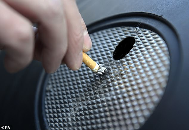 Researchers found strong differences in smoking rates among groups, with smoking much higher among poor non-white Americans