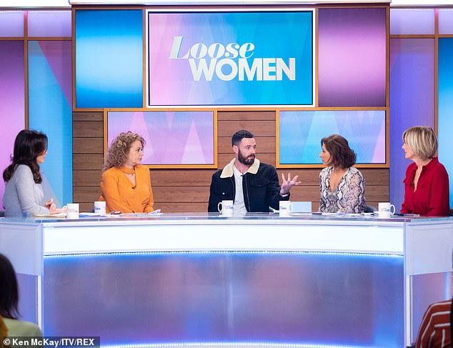 Loneliness: Speaking about the height of his depression, Sean admitted to Loose Women it stemmed from loneliness when he spent months away from home filming Our Girl last year