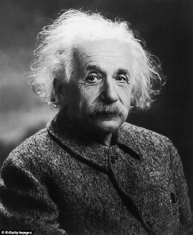 The iconic theory of relativity developed by Albert Einstein (pictured) is one of the central pillars of modern science and a British professor has been commended for his work to improve it
