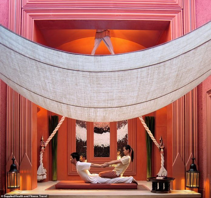 Relax! BARAI also boasts that is has 18 treatment rooms throughout the building and a private outdoor soaking room
