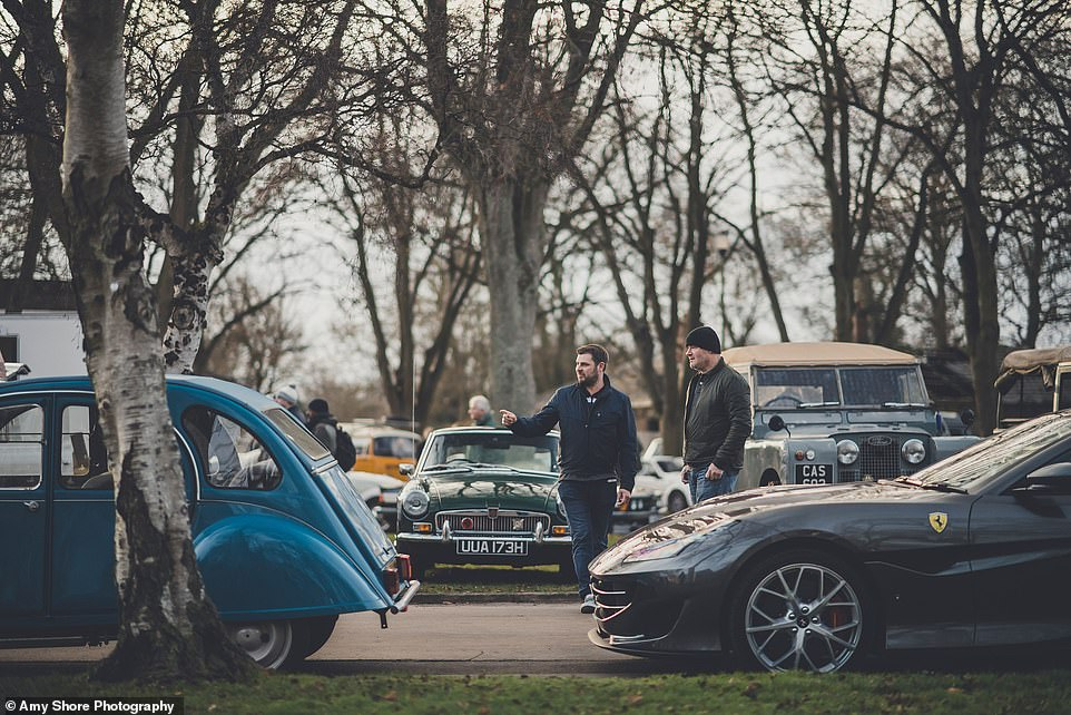The Sunday Scramble events of Bicester Heritage see it open three times a year for visitors, bringing owners a selection of classics and special cars that deliver an eclectic mix where a Ferrari and Citroen 2CV can go from nose to tail end