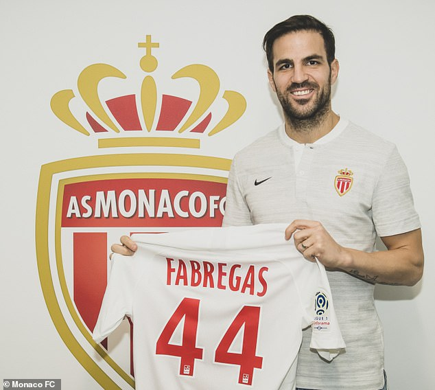 Cesc Fabregas completed his trip from Chelsea to the Ligue 1 AS Monaco fights