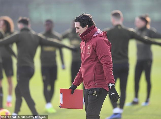 Arsenal-Chef Unai Emery passt seine unendlich intensiven Trainingseinheiten an