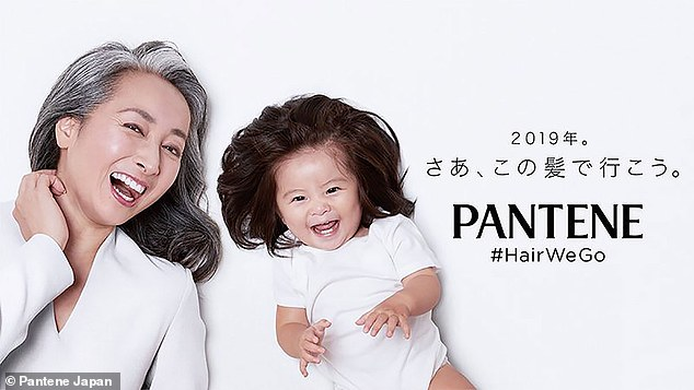 Baby Chanco made her hair-raising debut to the world with presenter Sato Kondo and the adorable Japanese baby girl and her impressive mane became even more famous