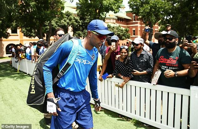 India has opened batsman KL Rahul and all-rounder Hardik Pandya (photo)