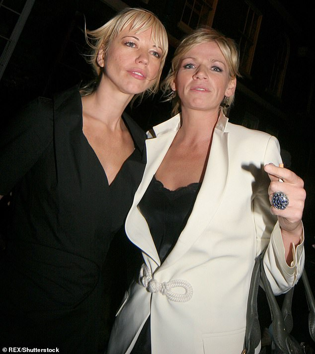 Not meant to be: However Sara confessed that she 'never expected' to be offered the job, during an interview with the Sun , because the stand-in never gets given the job, she claimed (pictured together in 2006)