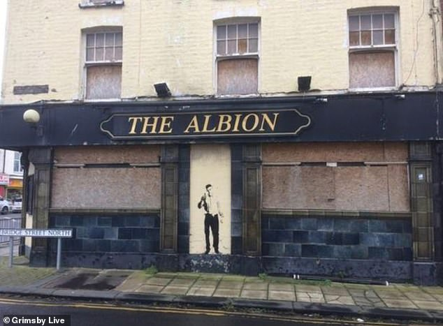 """The Albion closed its doors eight years ago. It is now needle-infested and perilously dangerous after persistent break-ins, earning it the title """"pub from hell"""""""