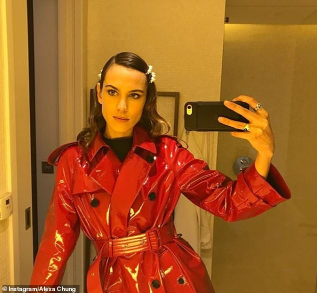 Style maven Alexa Chung has also be spotted wearing the trend. She posted a picture of her donning pearl hair slides in a recent Instagram snap
