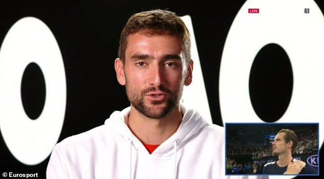 Marin Cilic of Croatia has savored battles with Murray after coming face to face over and over again
