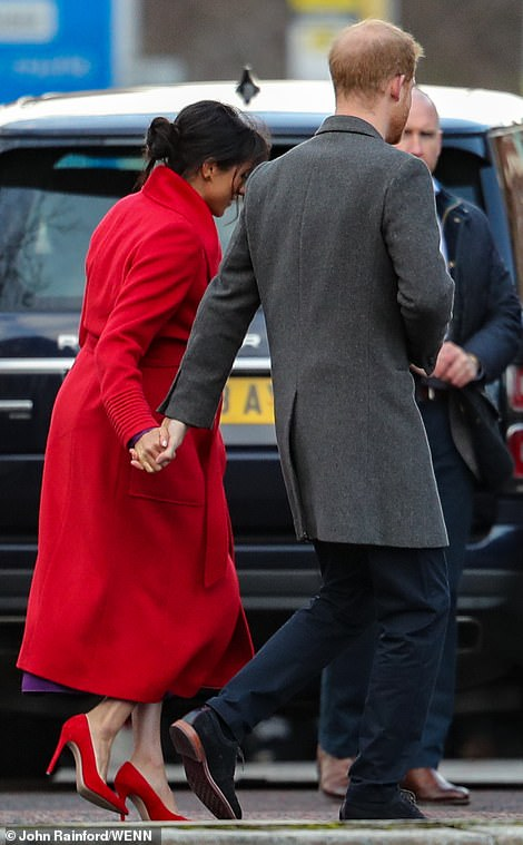Harry and Meghan were inseparable as they completed a series of engagements in Birkenead this morning