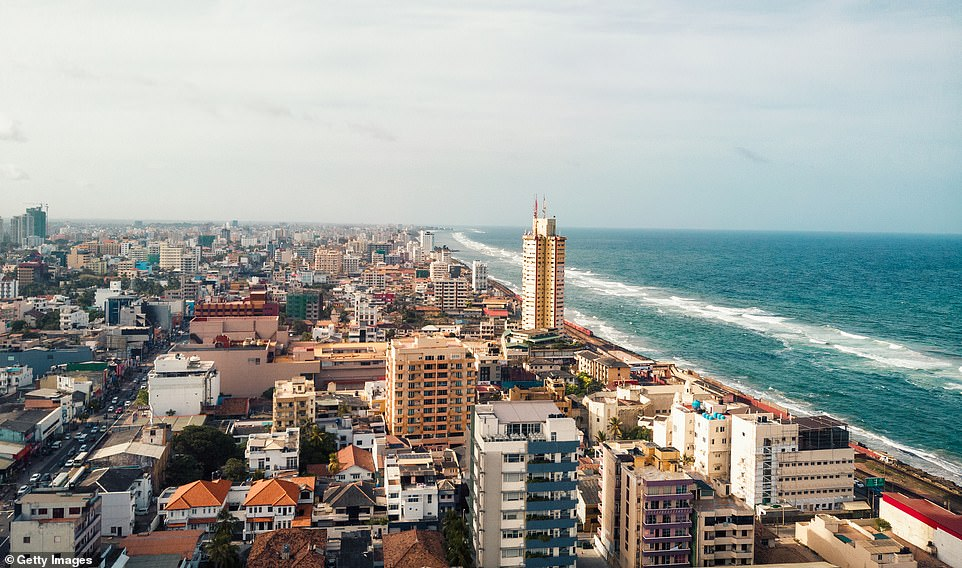 The capital of Sri Lanka, Colombo, is depicted as the 'must-photograph destination'. in 2019 in a new study