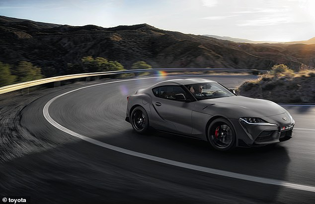 A 290-liter boot means that the Supra can be a performing car with a little bit of practicality