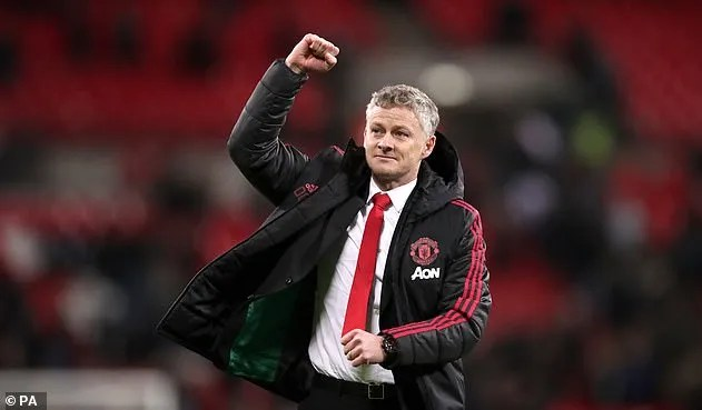 The Norwegian has won first six games as United's interim manager following win over Spurs