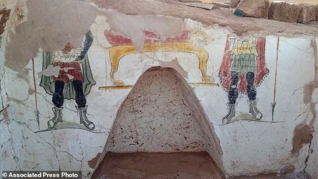 Each of the tombs is decorated in vibrant funeral paintings, although the artwork is lost to time. According to Egypt's Ministry of Antiquities, the paintings, once the process of mummifying the deceased