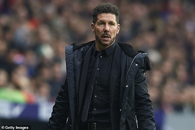 Mild-mannered Morata does not seem to be the obvious choice for Simeone & # 39; s Atletico Madrid