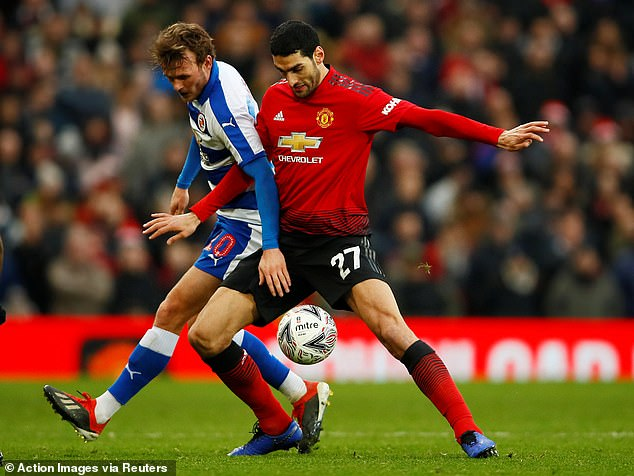 Fellaini has struggled for game time since Ole Gunnar Solskjaer took the helm