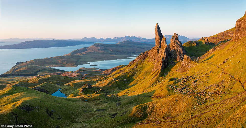 The Isle of Skye off the west coast of Scotland was used as Giant Country in the BFG movie directed by Steven Spielberg