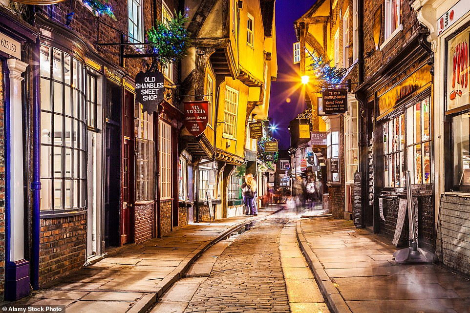 The Shambles, the historic medieval street in York, has grownin popularity among Harry Potter fans over the years due to its similarities to Diagon Alley from the book