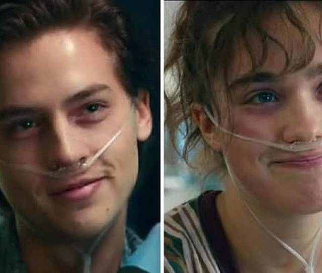 Cole Sprouse Plays Cystic Fibrous Patient Who Cannot Touch The Woman He Falls In Love With Daily Mail Online