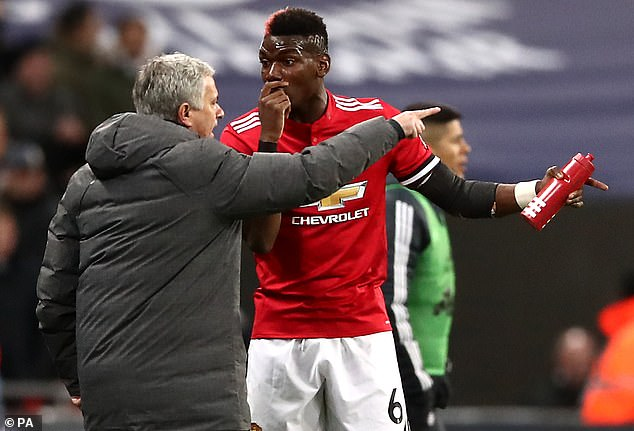 Mourinho and Pogba endured a strained relationship and his form suffered as a result
