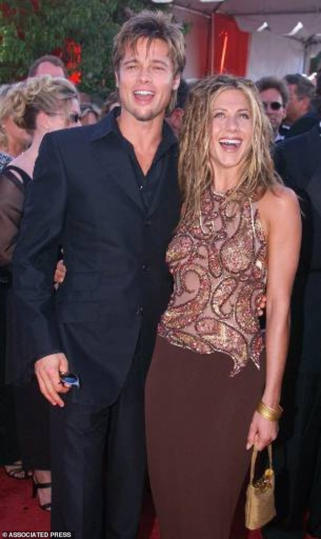 As seen in 1999: Jennifer was married to Brad from 2000 until 2005, when he infamously left her for his Mr. And Mrs. Smith co-star Angelina Jolie