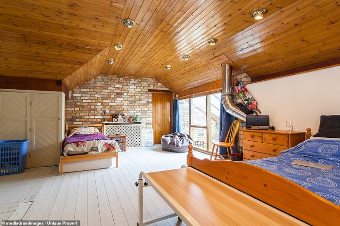 Sleepovers: With its large rooms, the new owners will have enough space to accommodate children or adults.