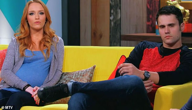 His ex: He shares 10-year-old son Bentley with ex Maci Bookout; seen on the MTV show