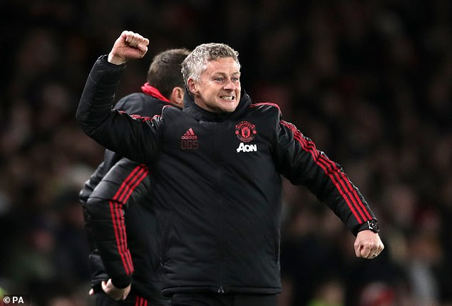 Victory maintained Solskjaer's perfect record since replacing Jose Mourinho at the helm