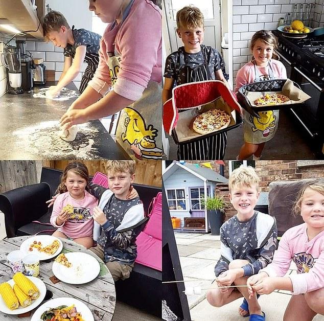 Desde que pudieron ofrecer a sus hijos estos nuevos alimentos, han comenzado a disfrutar de una variedad de opciones de comidas más saludables.