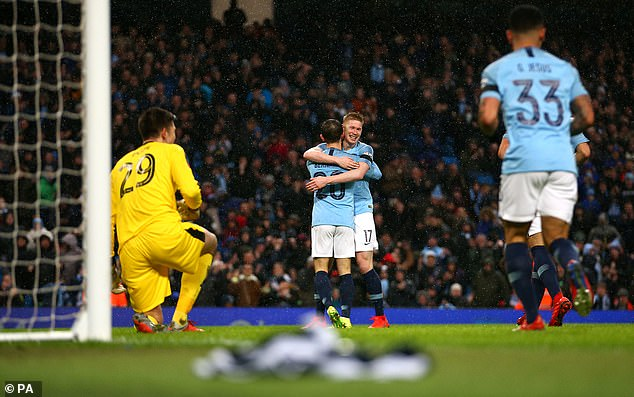 Both Silva and De Bruyne were influential in midfield as City overran Burnley  Pep Guardiola latest comment will not make Manchester City players and fans happy. 9019202 6637937 Both Silva and De Bruyne were influential in midfield as City ov a 16 1548627621320