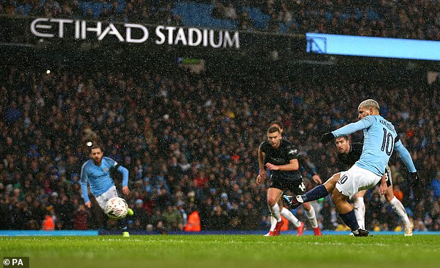 City's 5-0 demolition of Burnley was concluded by Sergio Aguero slotting home a penalty  Pep Guardiola latest comment will not make Manchester City players and fans happy. 9019920 6637937 Manchester City s 5 0 demolition of Burnley was concluded by Ser a 10 1548627540587