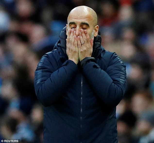 Pep Guardiola will see his side face Chelsea, Everton and Arsenal in the space on eight days  Guardiola, Man City are furious with Premier League with decision ahead of Chelsea, Arsenal clash 9060250 0 image m 17 1548634873359