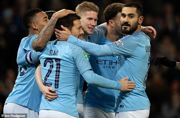 Manchester City had their trip to Everton rearranged after the reached the Carabao Cup final  Guardiola, Man City are furious with Premier League with decision ahead of Chelsea, Arsenal clash 9060620 6638547 image a 25 1548635404136